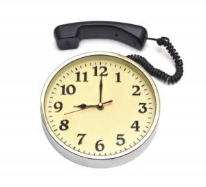 reloj productividad